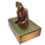 Box with Resting Buddha