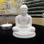 Traditional Buddha in lotus position miniature