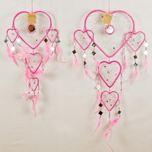 Dreamcatcher heart shaped