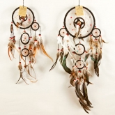 Native American Bead and Feather