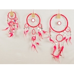 Dreamcatcher with mirror: Red