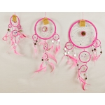 Dreamcatcher with mirror: Pink