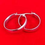 Medium Chunky Hoop Earrings
