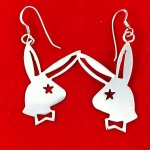Playboy Bunny Style Earrings
