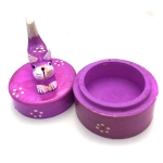 Box with Cat (purple)