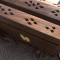 Brown incense holder and case