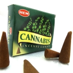 Hem Cannabis  Incense Cone
