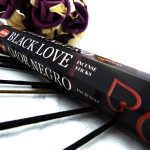 Hem Black Love incense sticks