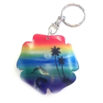 Flower Key Ring