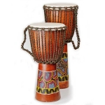 Painted Djembe Drum