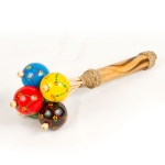 Coloured rattle