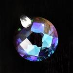Round Austrian Crystal Pendant