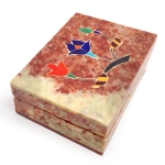 Rectangular soapstone trinket box