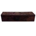 Long wooden Butterfly box