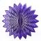 """Purple splash wind spinner 8"""""""