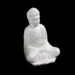 Traditional Buddha in stone (Small)