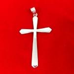 Slim Christian Style Cross Pendant