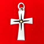 Chunky Cross Pendant