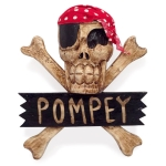 Crossbone 'Pompey' Wallhanging (Small)