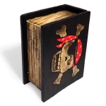 Book shaped trinket box