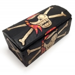 Pirate Treasure Chest (19cm wide)