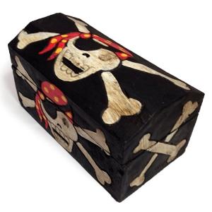 Pirate Treasure Chest (29cm wide)