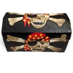 Pirate Treasure Chest (24cm wide)