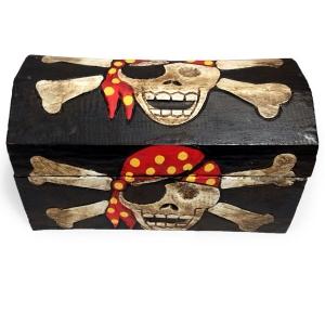 Pirate Treasure Chest (24cm wide)