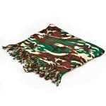 Green camouflage sarong
