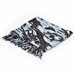 Grey camouflage sarong
