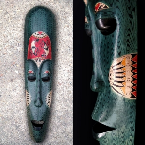 Lombok Mask Green