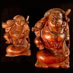 Chinese travelling Buddha