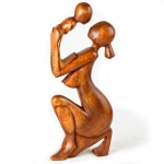 'Tenderness' wood carving